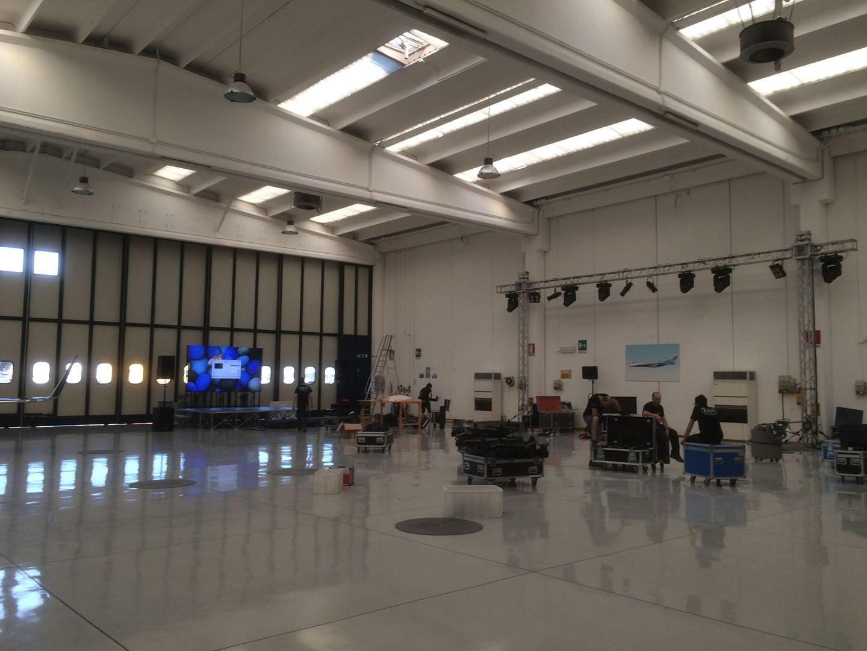 Garage Italia - Evento c/o Avionord - 1
